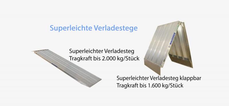 Aluminium Verladestege