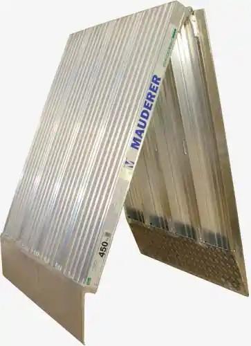 Verladesteg aus Aluminium, 1 Meter breit, klappbar
