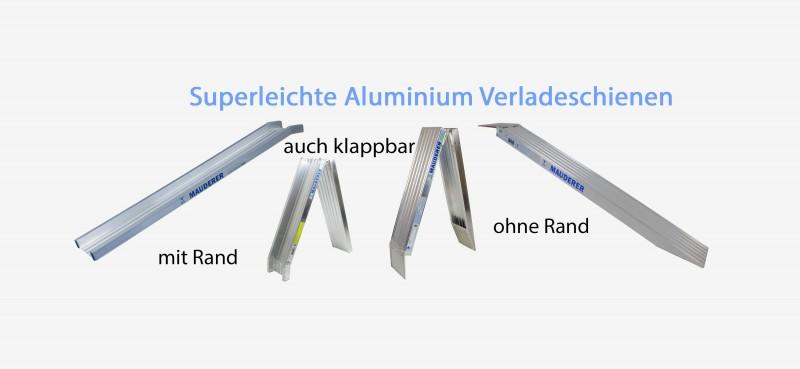 Aluminium Verladeschienen Superleicht
