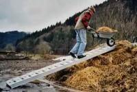Aluminium Verladesteg für Bau- & Landwirtschaft